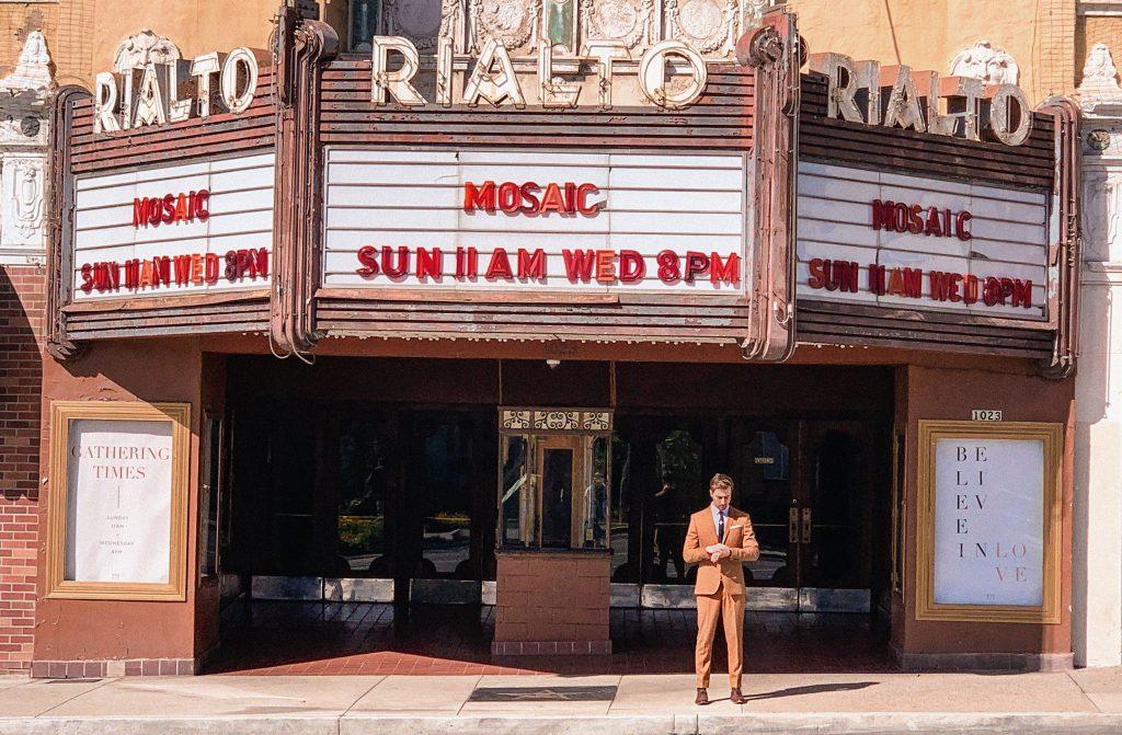 Kino Rialto z filmu La La Land